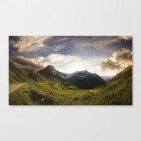 switzerland Canvas Prints featuring Switzerland by neb3