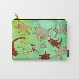 levitating kitties Carry-All Pouch