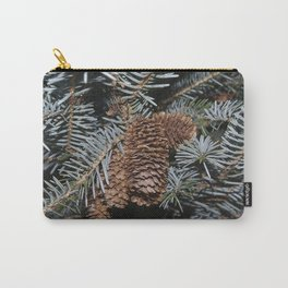 Spruce Cones And Branches Carry-All Pouch