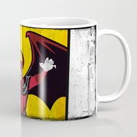 dungeons and dragons Mugs featuring DUNGEONS & DRAGONS - AVENGER by Zorio
