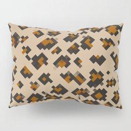 Pixelated Leopard Pillow Sham