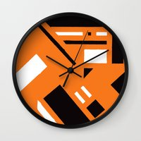 broadway Wall Clocks featuring 7av. Broadway by Michal Gorelick