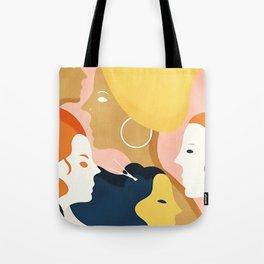 Global #Girlpower - we persist Tote Bag
