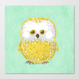 Oly the Owl  Canvas Print