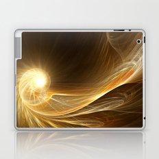 Golden Spiral Laptop & iPad Skin