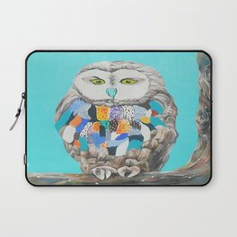 Imaginary owl Laptop Sleeve