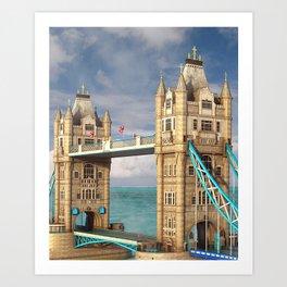 Tower Bridge. London Art Print