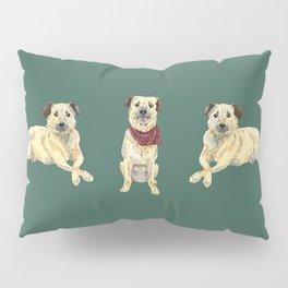 Luna the Pup Pillow Sham