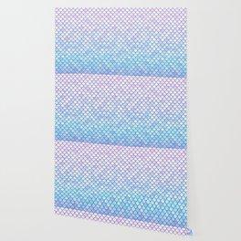 Lavender Mermaid Scales Wallpaper