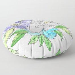 Floral II Floor Pillow