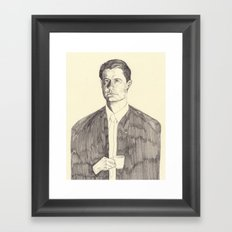 Dale Cooper Framed Art Print