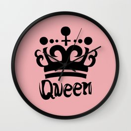 Queen Levy Wall Clock