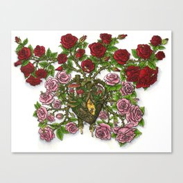 Witch's Heart Canvas Print
