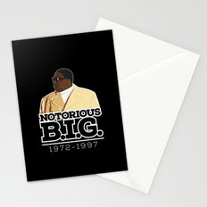 Christopher 'Notorious B.I.G.' Wallace Stationery Cards