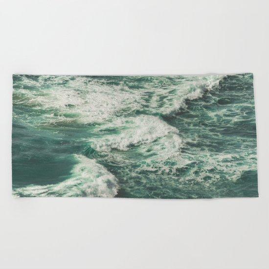 Wave Swirl Beach Towel