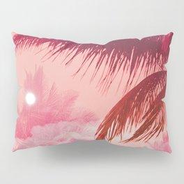 Tropical Pink Sunset Pillow Sham