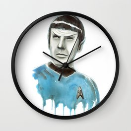 Live Long and Prosper Wall Clock