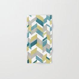 Bright geometrical pattern Hand & Bath Towel