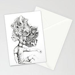 Trippy Head Stationery Cards