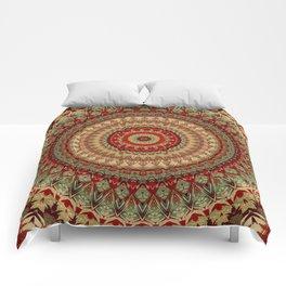 Mandala 448  Comforters