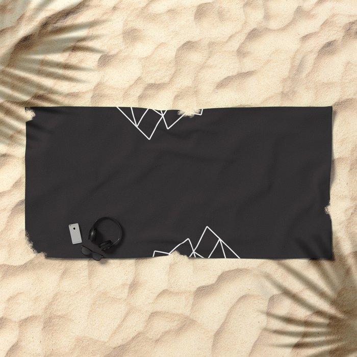 Geometric Pattern VII Beach Towel