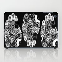 hamsa iPad Cases featuring Hamsa by TJSGrimm