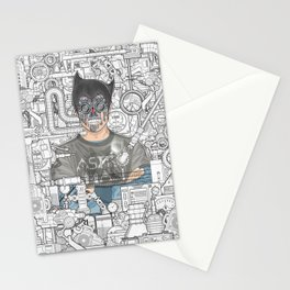astro man Stationery Cards
