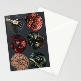 Zombie Illustration Assignment Stationery Cards