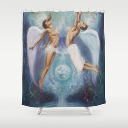 Heavenly Ties Shower Curtain