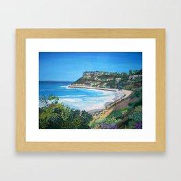 Carlsbad Beach Framed Art Print