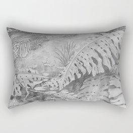 Rainforest in Pencil 2 Rectangular Pillow