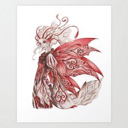 May Silverwing Art Print