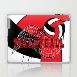 Volleyball Game  - Red Laptop & iPad Skin