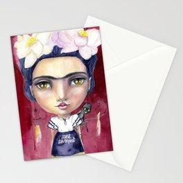 Little Frida by Jane Davenport Stationery Cards