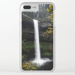 Silver Falls State Park, OR Clear iPhone Case