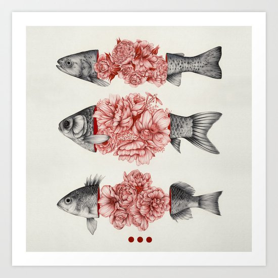 To Bloom Not Bleed  Art Print
