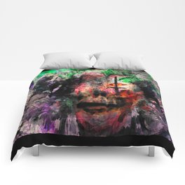 Faceless Beauty  Comforters