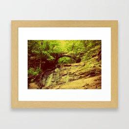 Hobbitland Bridge Framed Art Print