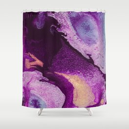 Cellular Shower Curtain