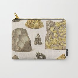 Vintage Gold Minerals Carry-All Pouch