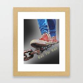 Walk The Walk Framed Art Print