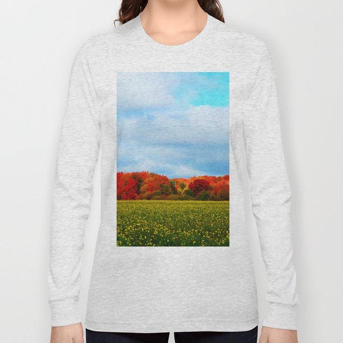 Light hits the Trees Beyond Long Sleeve T-shirt