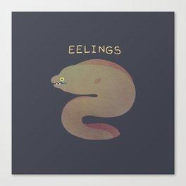 Eelings Canvas Print