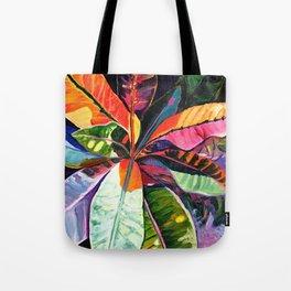 Kauai Croton Leaves Tote Bag