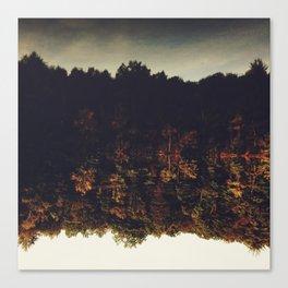 Flipping Autumn Canvas Print