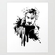 Fandom In Ink » Quicksilver Art Print
