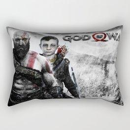 Kratos & Atreus Rectangular Pillow