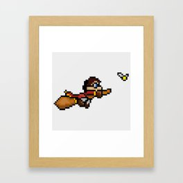 Quidditch Framed Art Print