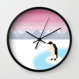 Penguin Time Wall Clock