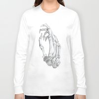 bones Long Sleeve T-shirts featuring Bones by xanoukgeelen